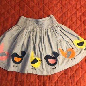 Girls mini Boden skirt